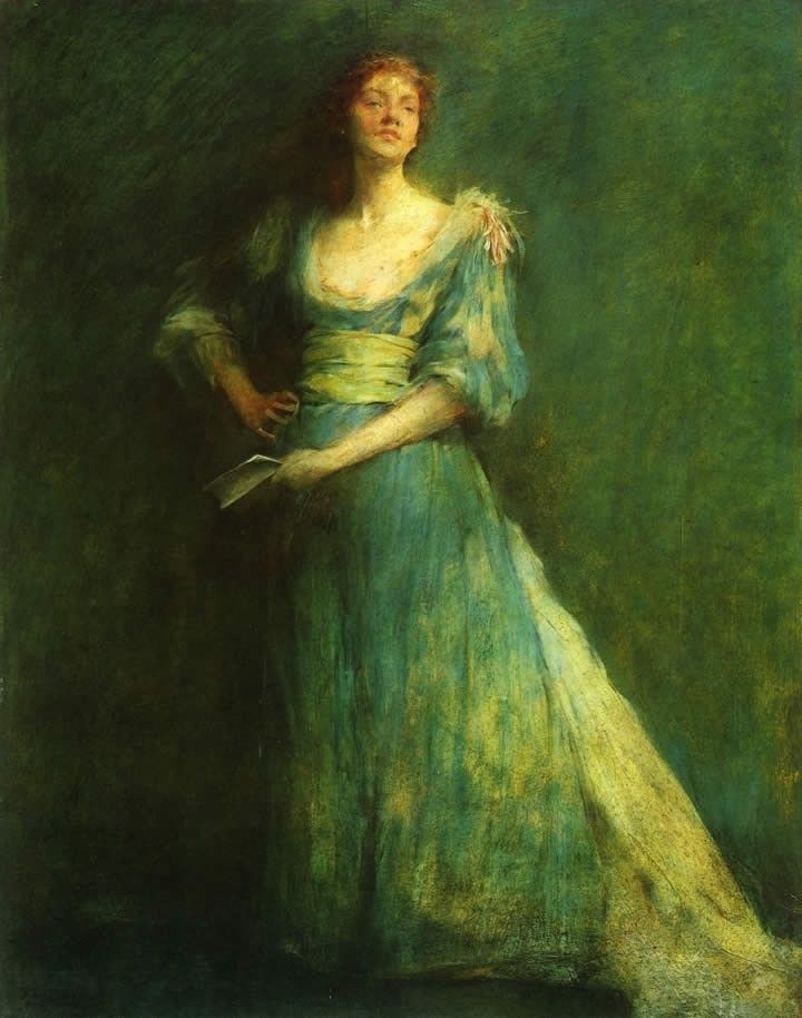 Thomas Dewing Comedia
